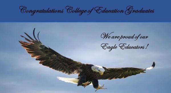 Congratulations College of Education GraduatesHome Page