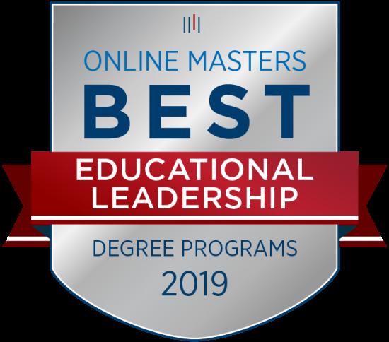 Online Masters 2019 Best Ed. Leadership Degree Program