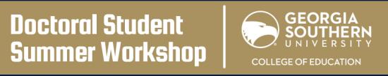 Doctoral Student Workshop Header