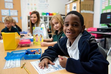 Elementary Education student