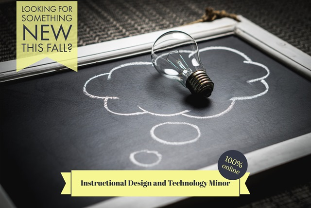 Instructional Design and Technology Minor Banner