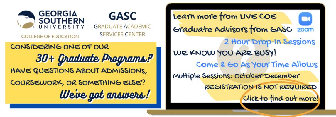 GSU COE GASC Sessions 1