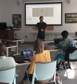 Instructional Technology Associate Professor Mete Akcaoglu led professional development for teachers participating in Project Game.