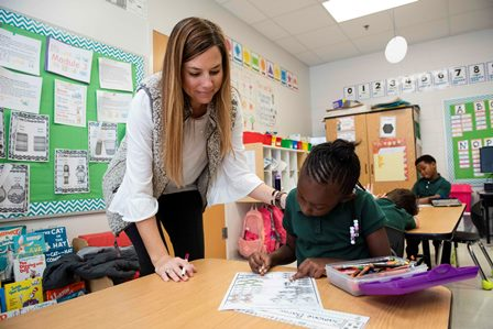 student teacher-coe programs